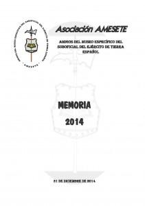 AMESETE. Memoria 2014