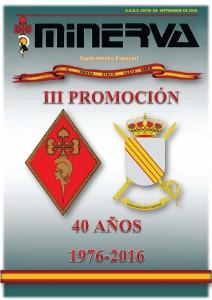 40 AÑOS III PROMOCION