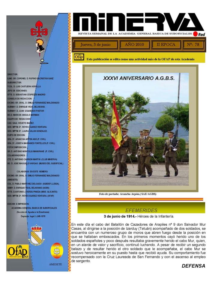 Revista MINERVA.RED núm. 78