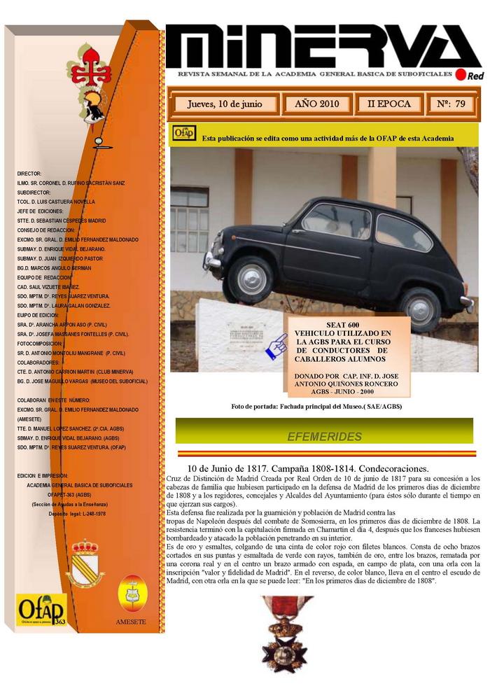 Revista MINERVA.RED núm. 79