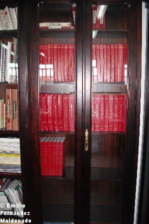 Pasa a custodiarse en el Centro la colección completa de las Órdenes de la AGBS.