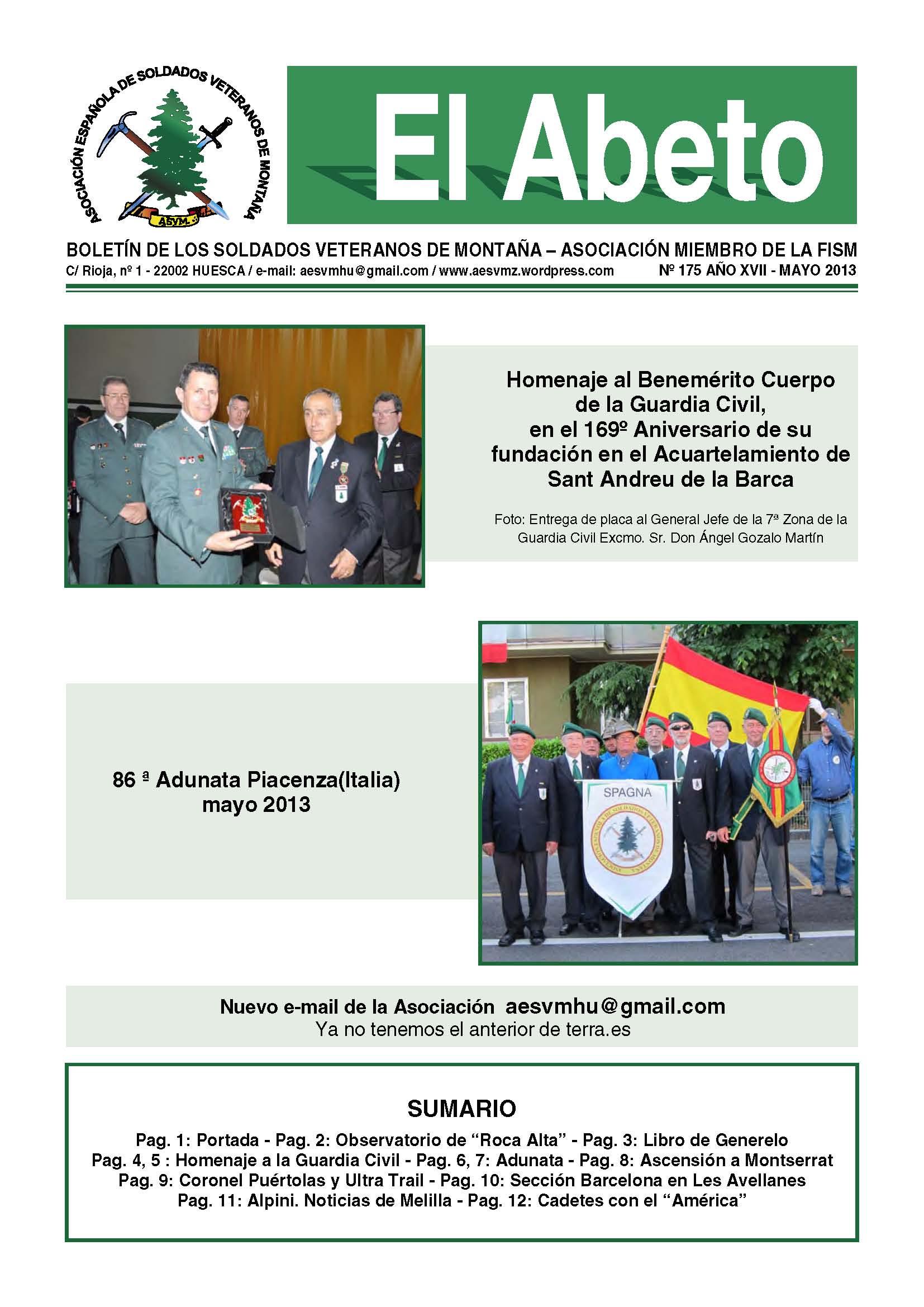 Revista EL ABETO núm. 175