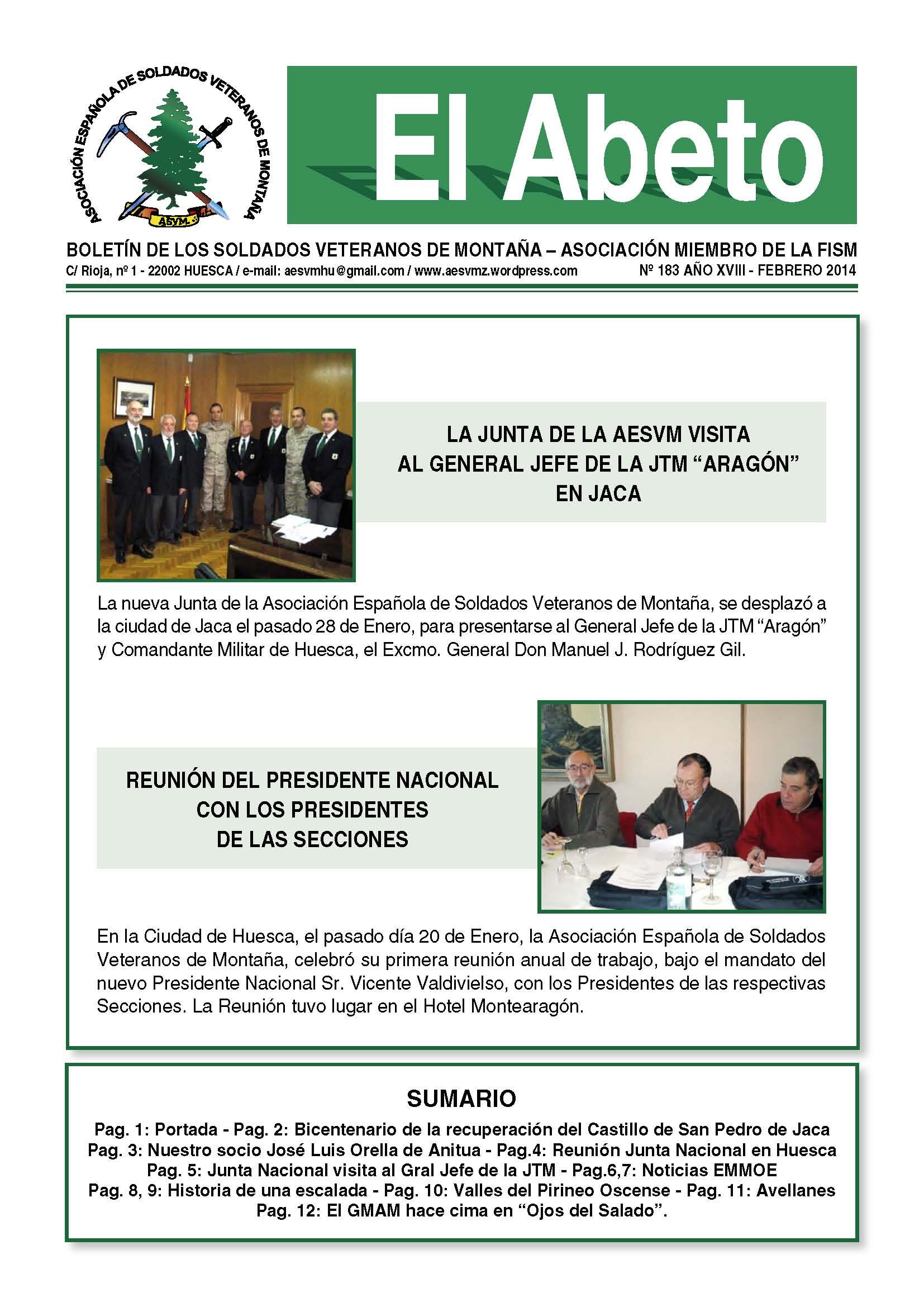 Revista EL ABETO núm. 183