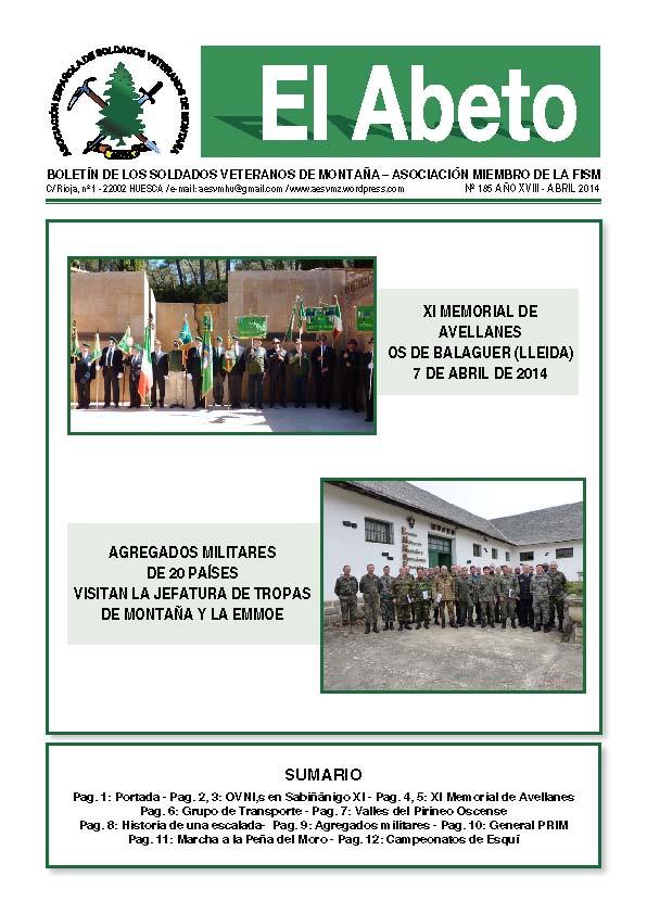 Revista EL ABETO núm. 185