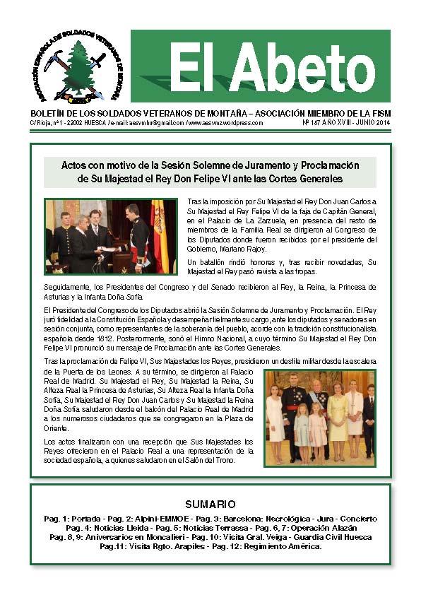 Revista EL ABETO 187