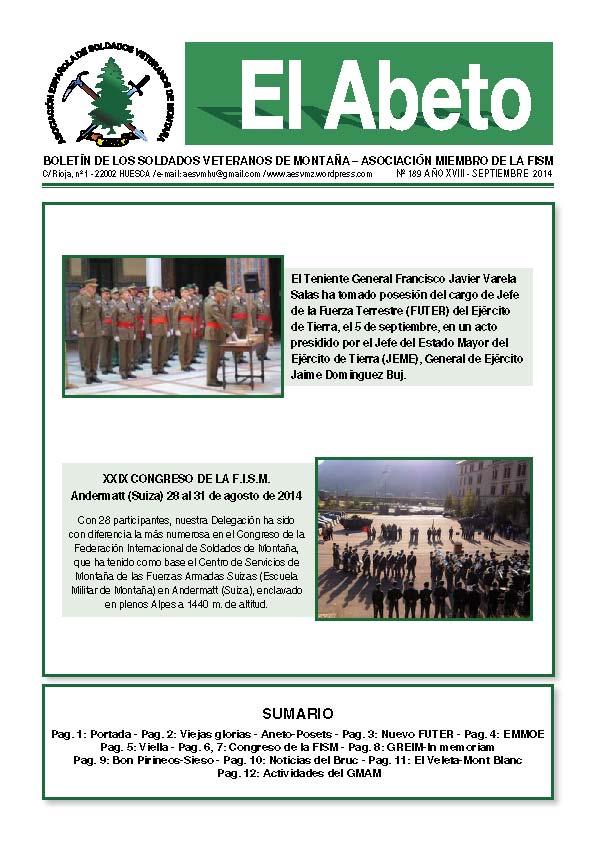 Revista digital EL ABETO núm. 189