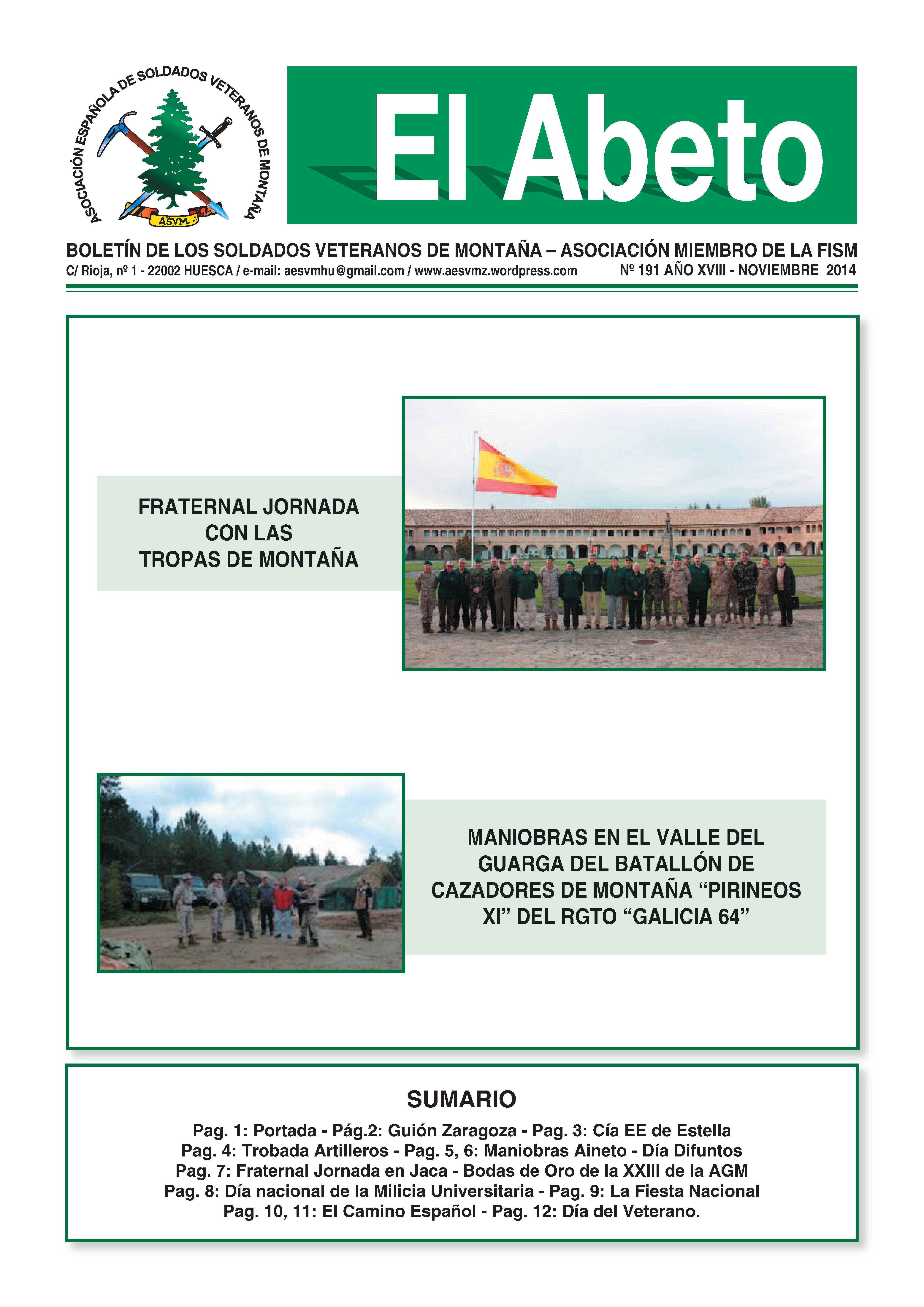 REvista digital EL ABETO núm. 191
