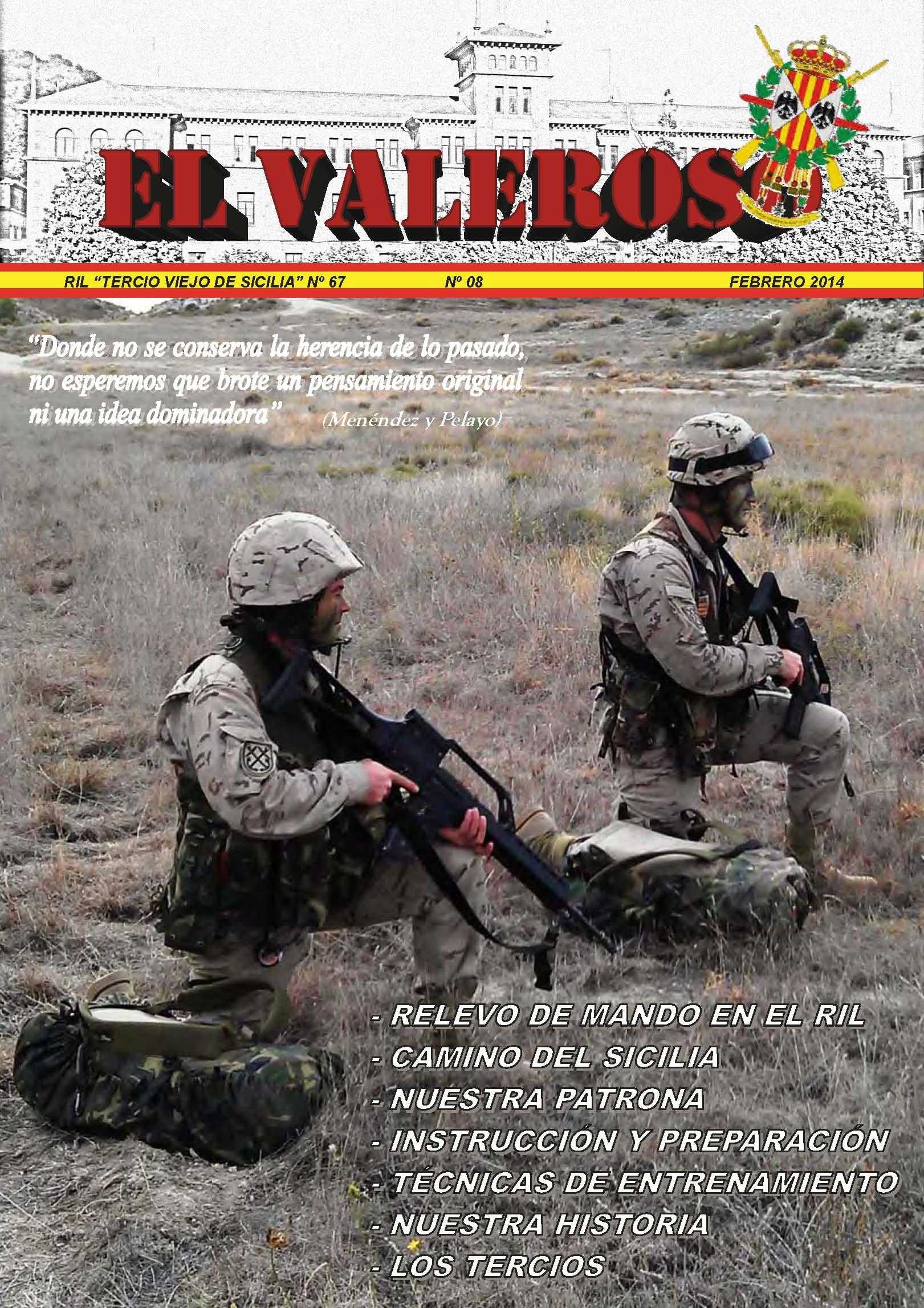 Revista EL VALEROSO núm. 8
